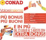 Conad City - Più bonus, più buoni!