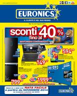 Euronics - Sconti fino al 40%