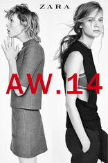 Volantino Zara - Lookbook Woman A/W 14