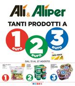 Alì e Alìper - Tanti prodotti a 1€, 2€, 3€