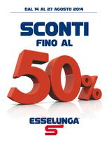Esselunga - Sconti fino al 50%