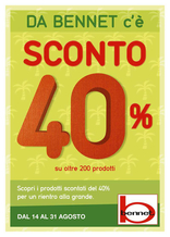 Bennet - Sconto 40%