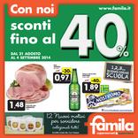 Famila Superstore - Con noi sconti fino al 40%