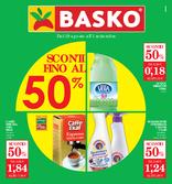 Basko - Sconti fino al 50%