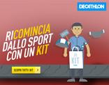 Decathlon - Ricomincia dallo sport con un kit