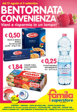 Famila Superstore - Bentornata convenienza