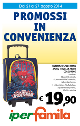Iperfamila - Promossi in convenienza