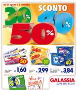 Galassia - Sconto del 30% 40% 50%