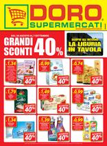 Doro Supermercati - Grandi sconti 40%