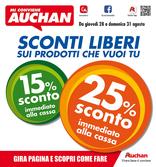 Auchan - Sconti liberi