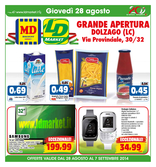 LD Market - Grande apertura a Dolzago