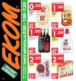 Ekom - Tanti articoli a €0.50 - €1.00 - € 1.50