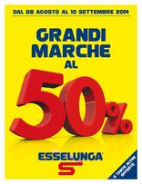 Esselunga - Grandi marche al 50%