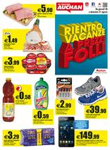 Auchan - Rientro vacanze a prezzi folli
