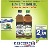 E.LECLERC Conad - Da noi il tuo risparmio, è liscio come l'olio