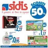 Sidis - Sconti fino al 50%