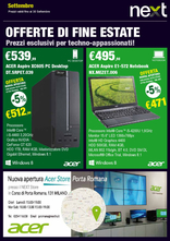 Next hardware & software - Offerte di fine estate