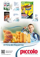 Supermercati Piccolo - E' l'ora del risparmio