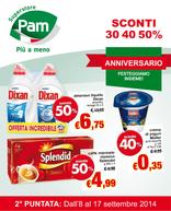 Pam - Sconti del 30% 40% 50%