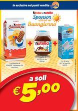Decò - Kinder e Nutella: Sponsor ufficiali del Buongiorno