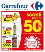 Carrefour Ipermercati - Sconti fino al 50%
