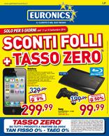 Euronics - Sconti folli + tasso zero