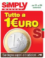 Simply Market - Tutto a 1 €uro