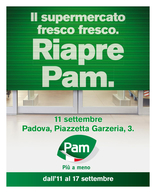 Pam - Riapre Pam