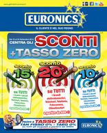 Euronics - Centra gli sconti + Tasso zero