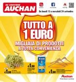 Auchan - Tutto a 1 euro