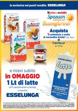 Esselunga - Kinder e Nutella: Sponsor ufficiali del Buongiorno