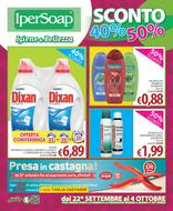 IperSoap - Sconto 40% - 50%