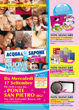 Acqua & Sapone - Nuova apertura a Ponte San Pietro