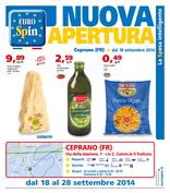 Eurospin - Nuova apertura a Ceprano