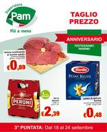 Pam - Taglio prezzo