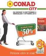 Conad City - Sconti fino al 50%