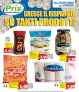 Prix - Cresce il risparmio su tanti prodotti