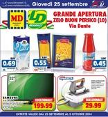 LD Market - Grande apertura Zelo Buon Persico