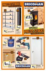 Bricoman - Prezzi stock!