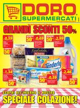 Doro Supermercati - Grandi sconti 50%