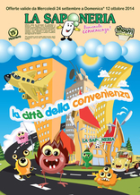 Volantino La Saponeria - La città della convenienza