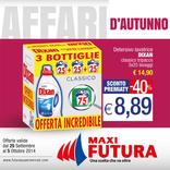 Futura Supermercati - Affari d'autunno