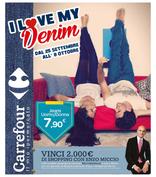 Carrefour Ipermercati - I love my Denim