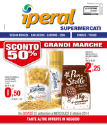 Iperal - Sconto 50% Grandi marche