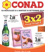 Conad - 3x2 Prendi 3, paghi 2