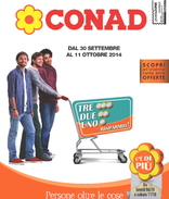 Conad - Tre, due, uno...Risparmio!