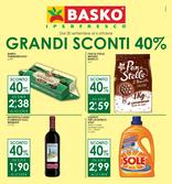 Basko - Grandi sconti 40%