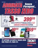 Trony - Abbinata tasso zero