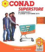 Conad Superstore - Tre, due, uno...Risparmio!