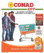 Conad City - Tre, due, uno...Risparmio!